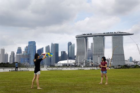 Singapore Exports Drop Adds to Signs of Europe Fallout