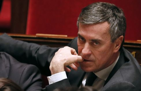Budget Minister Jerome Cahuzac