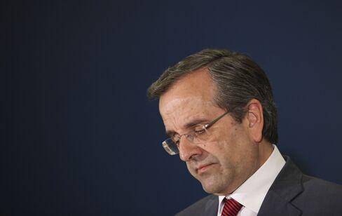 Samaras Faces Coalition Revolt Over Lenders' Greek Labor Demands