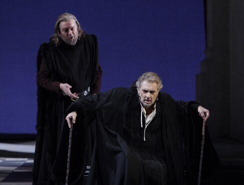 Ferruccio Furlanetto and Placido Domingo