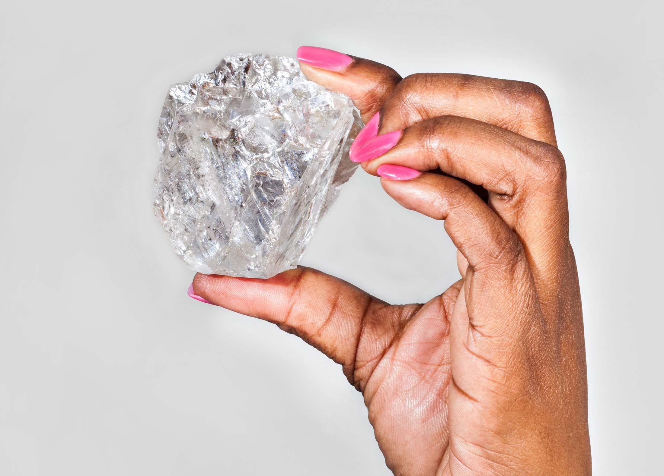 1000克拉的钻石有多大? - 晨枫 - 晨枫小苑
