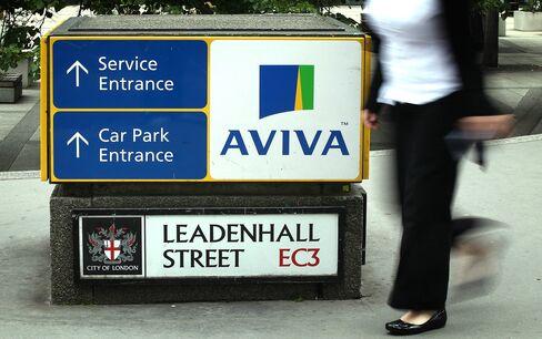 Aviva's Pay Plan Rejected as UBS, Inmarsat Shareholders Rebel