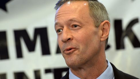 Former Maryland Governor Martin O'Malley speaks on March 6, 2015, in Concord, N.H.