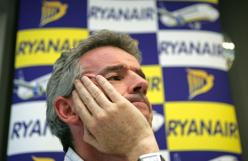 Michael O'Leary, CEO of Ryanair Holdings Plc.
