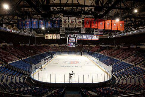 MSG Battles Barclays Developer in Bid to Remake Nassau Coliseum