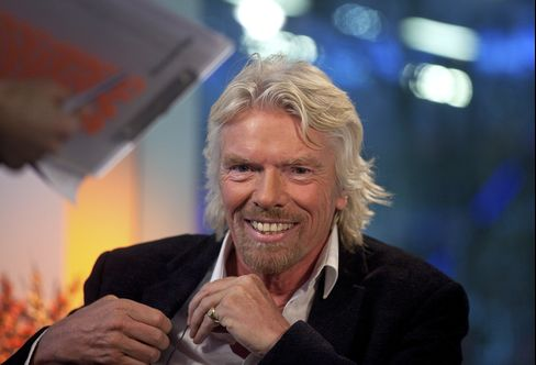 British Billionaire Richard Branson