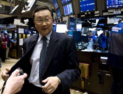 Chen's BlackBerry Revival Task Mirrors 1990s Sybase Turnaround
