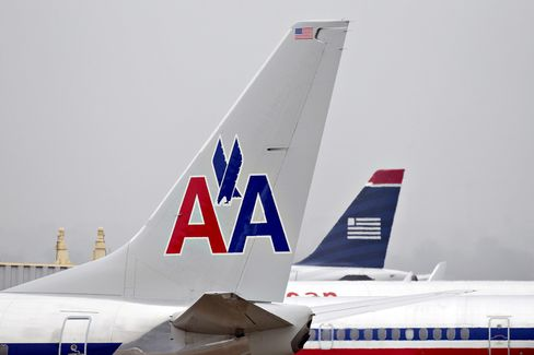 AMR, US Airways Said to Be Poised for $11 Billion Merger Today