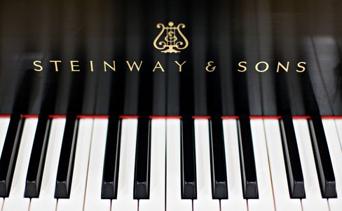 Paulson & Co. to Buy Piano Maker Steinway for $512 Million