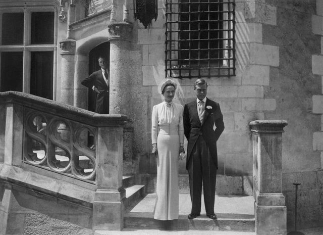 """""""Downton Abbey"""" gave Prince Edward -- here with his bride, Wallis Simpson -- his due. Source:OFF/AFP/Getty Images"""