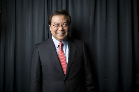 Samuel Tsien, chief executive officer of Oversea-Chinese Banking Corp. (OCBC). Photographer: Brent Lewin/Bloomberg