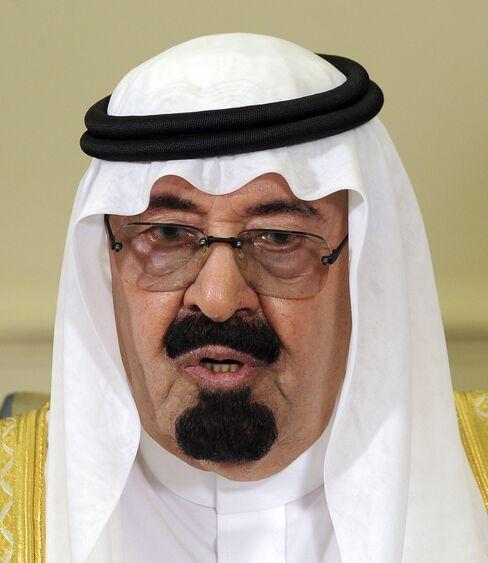 Saudi Arabias King Abdullah