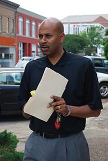 Meridian Mayor Percy L. Bland III