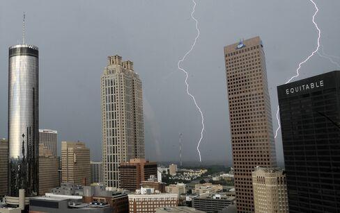 Lightning Strikes in Atlanta