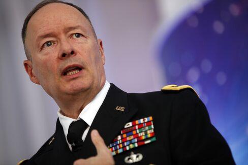 U.S. General Keith Alexander