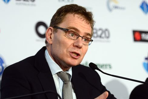 BHP Billiton Ltd. CEO Andrew Mackenzie