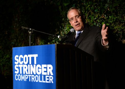 New York Comptroller-elect Scott Stringer