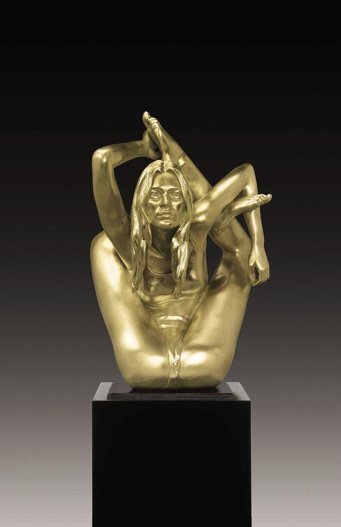 Kate Moss Sculpture