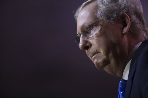 Top Senate Republican Mitch McConnell