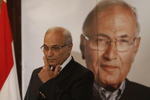 Former Mubarak Aide Ahmed Shafik
