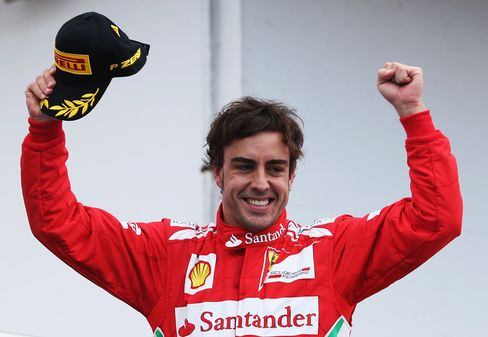 Alonso Wins German Grand Prix to Boost Lead in F-1 Standings