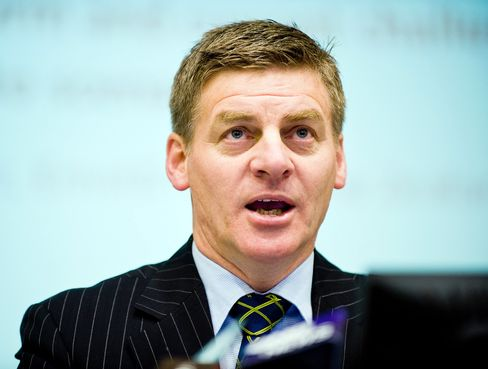 Bill English, New Zealand's finance minister