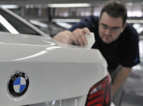 Bayerische Motoren Werke AG factory in Dingolfing