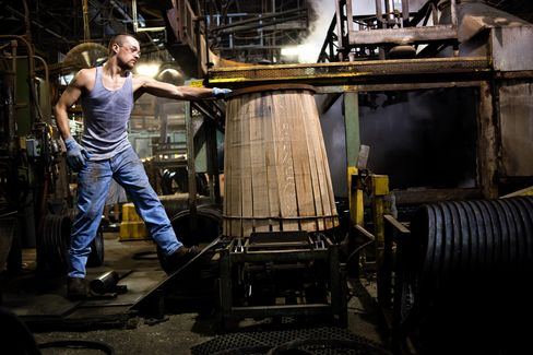 U.S. Industrial Production Increases in Sign of Resilience