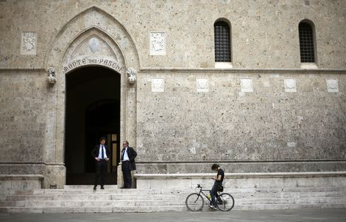 Banca Monte dei Paschi di Siena Headquarters in Siena