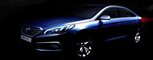 Hyundai's New 2015 Sonata
