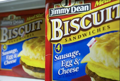 Sara Lee Corp.'s Jimmy Dean brand biscuit sandwiches