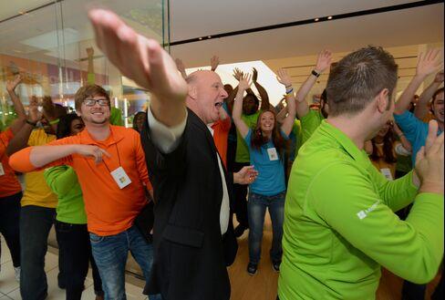 Microsoft Corp. CEO Steve Ballmer