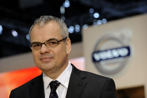 Volvo Car Corp. CEO Stefan Jacoby