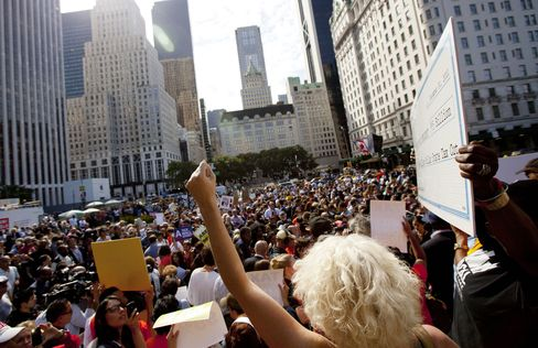 Occupy Wall Street Protest Backed by New Yorkers
