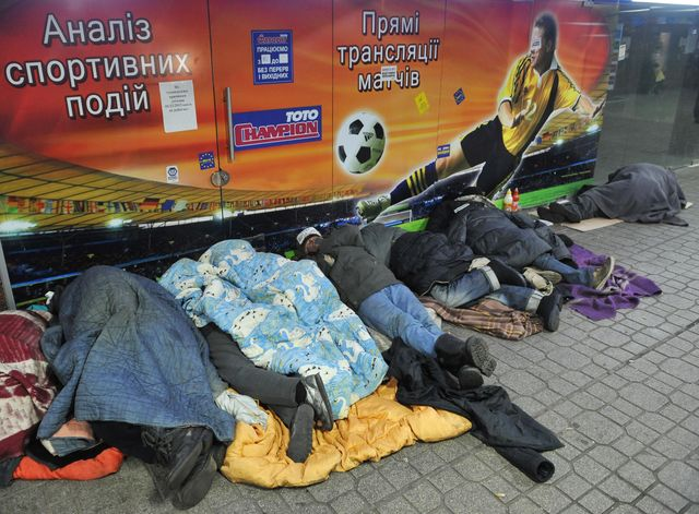 A bit of redistribution might help Ukraine's economy. Photographer: Yuriy Dyachyshyn/AFP/Getty Images