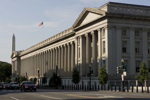 Primary Dealers Said to Meet With Treasury Officials at Noon