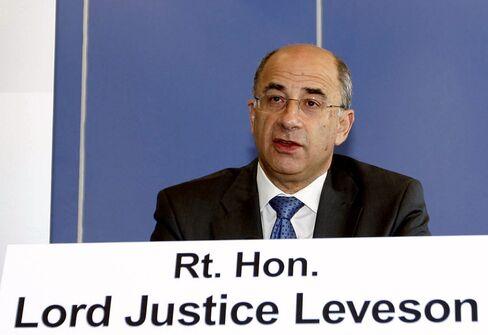 Justice Brian Leveson