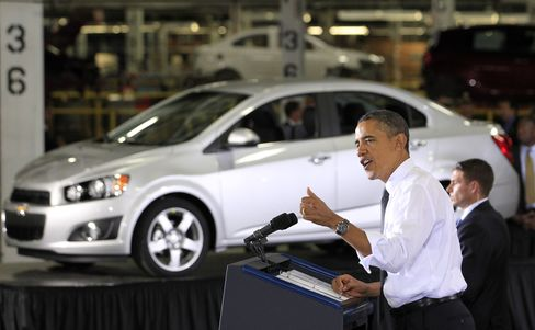 Obama U.S. Auto Reckoning Gives Europe Template for Fix
