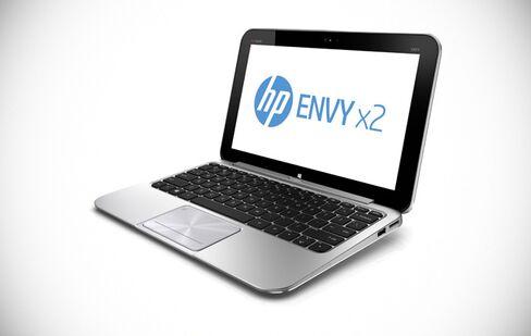 Hewlett-Packard Unveils First Windows 8 Touch-Screen Laptop PCs