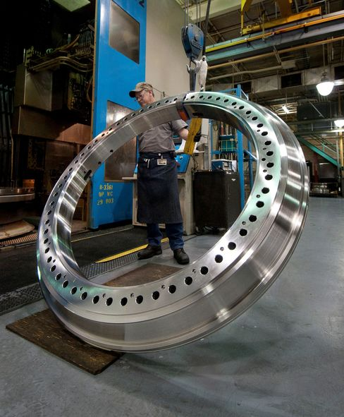 Wind energy main-shaft bearing systems are manufactured