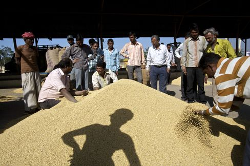 Soybean Meal Shipments From India to Climb on Crop, U.S. Drought