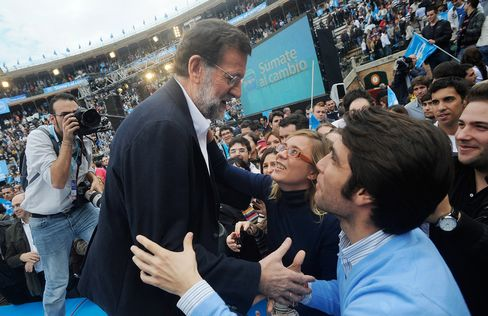 Prime Minister-Elect Mariano Rajoy