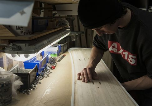 Snowboard Manufacturing