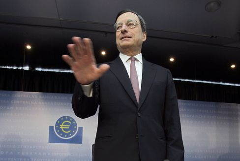 Draghi Says ECB to Do Whatever Needed as Yields Threaten Europe
