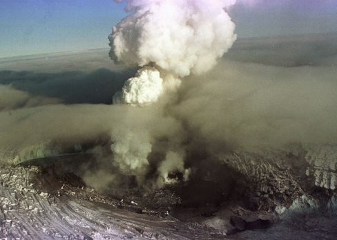 1996 Eruption in Iceland