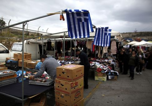 Euro Finance Officials Meet to Jump-Start Agreement on Greece