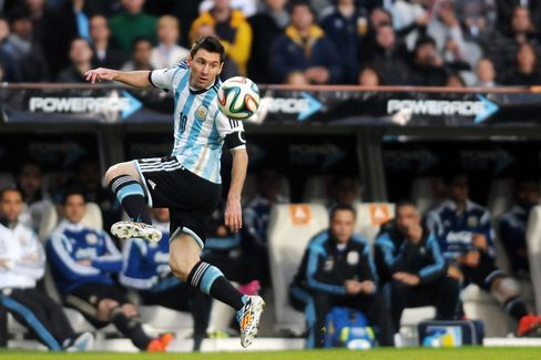 Argentina Soccer Player Lionel Messi