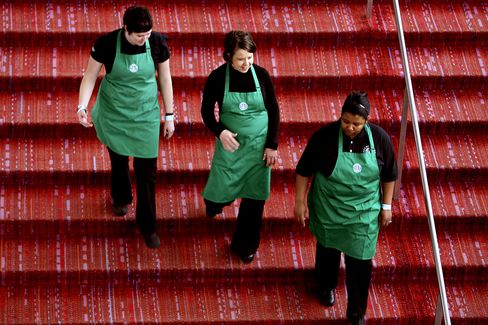 Starbucks Profit Rises 10% as Holiday Coffee Sales Increase