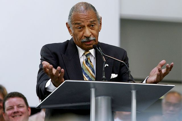 John Conyers, independent from Michigan? Photographer: Gary Malerba/Bloomberg News