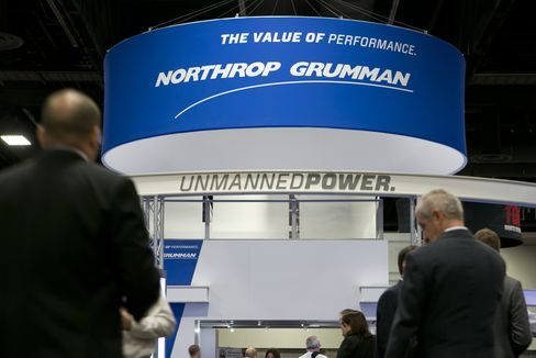 Northrop Boosts Political Spending as Lawmakers Stand By Drone